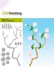 Craft emociones de Corte & Grabado en Relieve muere Rama Con Flores #0187