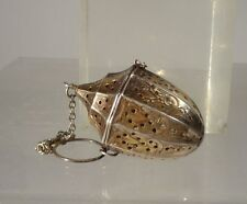 Antique Sterling Silver Tea Bail Signed Webster Silver Company Strainer