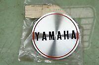 YAMAHA NOS NEW 307-15425-00 GENERATOR COVER EMBLEM CS5 LS2