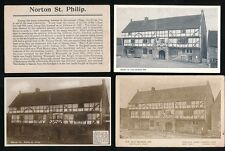 Somerset NORTON ST PHILIP The George Inn 15 early PPCs
