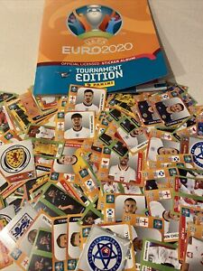 Panini Euro 2020 football stickers. Pick the numbers required to fill your book