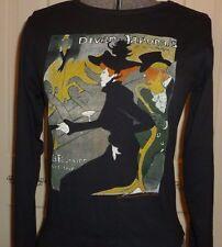 Museum Store Fine Art Toulouse Lautrec Long Sleeve Fitted S M L XL Metropolitan
