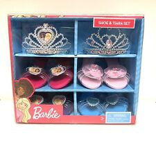 Barbie Shoe And Tiara Set, Heels, Girls, Dress Up,