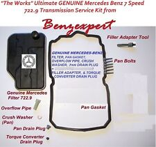 Ultimate OEM Genuine Mercedes 7 speed Automatic Transmission Service Kit 722.9
