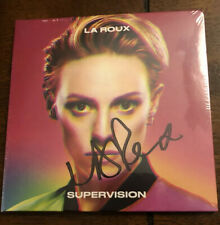 La Roux Supervision SIGNED AUTOGRAPHED By Elly Jackson New Sealed CD