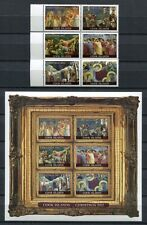 Islas Cook 2012 navidad Christmas pinturas pinturas Bondone 1770-1781 mnh