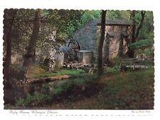 Postcard Water Wheel Hagley Museum Wilmington Delaware