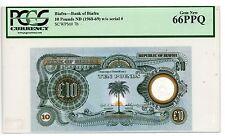 Biafra ... P-7b ... 10 Pounds ... 1968/69 ... GEM*UNC*  PCGS 66 PPQ.