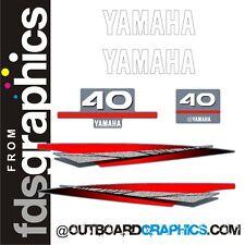 Yamaha 40hp Motor Fuera De Borda graphics/sticker Kit