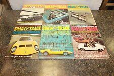 COMPLETE ROAD & TRACK MAGAZINE JANUARY-DECEMBER 1970 (OAK9677-1 LOC.DDD #477)