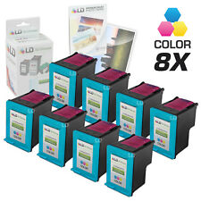 LD © Reman Replacement Ink Cartridges for HP 95 C8766WN Tri-Color 8pk