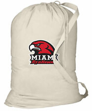 Miami RedHawks Laundry Bag MIAMI of OHIO LAUNDRY BAGS w/ Shoulder Strap!