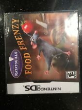 Ratatouille Food Frenzy NDS New Nintendo DS Brand New Factory Sealed