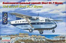 1/144 Eastern Express Short SC-7 Skyvan Airliner Model Kit EE144117