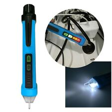 Non-Contact AC Electric Voltage Tester Pen Volt Sensor Detector 12V - 1000V Blue