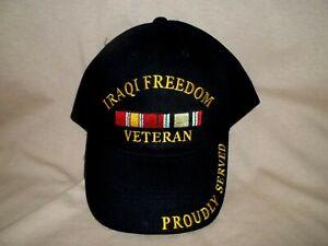 Iraqi Freedom Veteran, 100% Cotton with the Ribbon