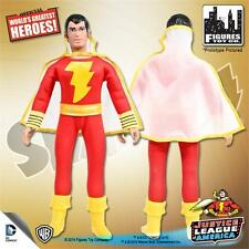 JUSTICE LEAGUE OF AMERICA; SHAZAM; 8 INCH FIGURE NEW IN POLYBAG JLA