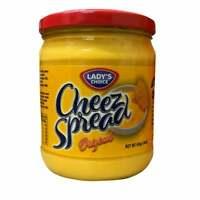 Lady's Choice Cheez Spread Original or Pimiento - 454g (Larger Jar)