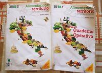 alimentazione territorio , quaderno operativo vol 1e2 di Rodato,  2012,Clitt -F