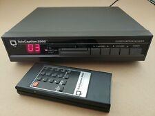 TeleCaption 3000 Closed Caption Decoder For Tv, Vcr, Satellite Receiver & Cable
