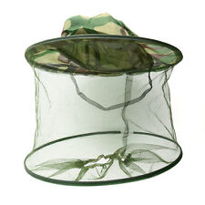 Insect Mosquito Fly Net Mesh Head Face Fishing Outdoor Hiking Hat Protector Cap