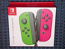 NEW Nintendo Official Switch Joy-Con Neon Green Pink SET Console System JAPAN FS