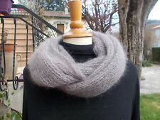 Kit tricot - snood/tour en mohair