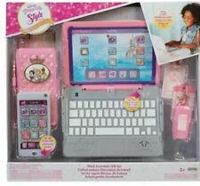 NEW Disney Princess Work Like Mum/Dad - Play Set - Laptop Mobile Phone Gift 3+