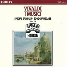 Vivaldi I Musici Special Sampler Sonderausgabe 1981 Philips CD Album