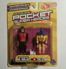 DC Direct Dr. Mid-Nite & The Atom DC Comics Pocket Super Heroes Sealed Series 1