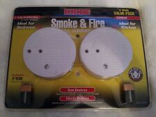 Smoke & Fire Alarms By Kidde 2 Value Pack Includes 2 Year Power Cell