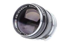 Nippon Kogaku NIKKOR-PC 8.5cm f/2 Lens for Nikon S Rangefinder Cameras  #P6361
