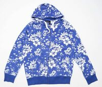 Ecko Unlimited Mens Size M Floral Blue Hoodie