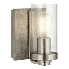 Kichler Dalwood 1 Light Wall Sconce, Classic Pewter - 45926CLP