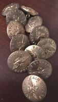 Royal Canadian Air Cadets set of 12 Military Brass Buttons Scully 23mm # 5015