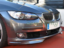 Front Bumper Splitters For MY07-09 BMW E92 3-Series Pre-LCI Coupe (UNPAINTED)