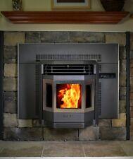 Pellet Stove Comfortbilt HP22i Fireplace Insert 42000 btu Black w/SS Door Trim