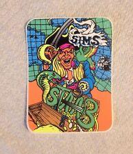 vintage skateboard sticker sims kevin staab solid powell schmitt skate NOS alva