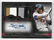 2017 Topps Museum MIGUEL SANO SIGNATURE SWATCHES Autograph 6-COLOR Patch 12/25