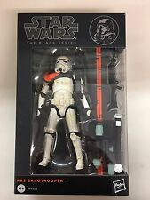 Star Wars Black Series 6 Inch Figure Sandtrooper #03 Orange Pauldron Genuine NEW