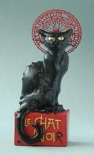 Le Chat Noir Black Cat Mini Statue Sculpture Pocket Art Artist Steinlen