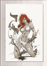 RED SONJA #1 NM++ 9.6/9.8 VIRGIN EDITION (1:50) J. SCOTT CAMPBELL COVER 2017