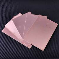 5 Stuck Double Side PCB Kupfer Laminat Copper Clad Laminate DIY FR4 10 x 15cm