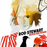 Music CD Rod Stewart Blood Red Roses Pop Rock Sealed