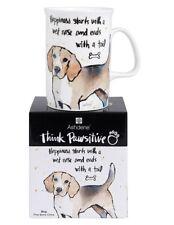 Ashdene Think Pawsitive Mug Beagle 320ml