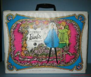 The World Of Barbie Double Doll Case For Barbie and her friends Circa 1968 LF22
