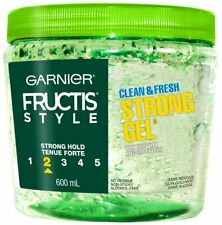 NEW Garnier Fructis Style Clean & Fresh Gel  Strong 600 G