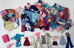HUGE Lot Of 140 Plus Vintage 70s Barbie Doll Clothes & Accessories