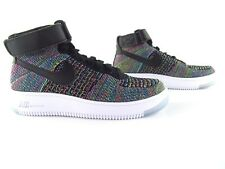 brand new a7a58 59a09 Nike Air Force 1 AF1 Flyknit Mid Multicolor New UK3 EUR 35.5