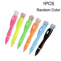 Student Kugelschreiber Kugelschreiber mit LED-Licht Taschenlampe Briefpapi Heiß